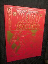 1977 WALLY WOOD Weird Sex-Fantasy Portfolio SIGNED #1854/2000 VF+ 12x16