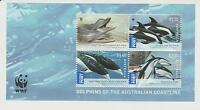 2009 Australia, Endangered Dolphin Species, SG MS 3201, MNH, Miniature Sheet