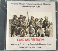 Land And Freedom/Soundtrack/George Fenton (CDDEB1001) CD Album New And Sealed