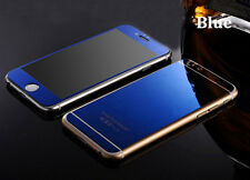 Mirror Tempered Glass Front + Back Screen Protector For Apple iphone 6s Plus SE