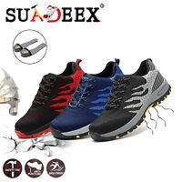 SUADEEX Chaussures de sécurité homme S3 SRC Chaussure de travail Bottes léger