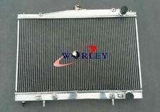 Aluminum Radiator For Nissan Pintara SKYLINE R33 R34 GT GTT GTR 1993-2003 AT/MT