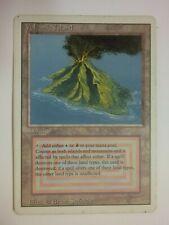 MTG Magic the Gathering English Volcanic Island 1994 Revised 3rd Dual Land MP