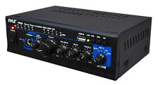 Pyle PTAU45 Mini 2x120 Watt Stereo Power Amplifier w/ith USB-CD-AUX Inputs