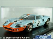 FORD GT 40 MODEL CAR WINNER LE MANS 1968 RACING 1:43 SCALE SPARK FILM GT40 K8