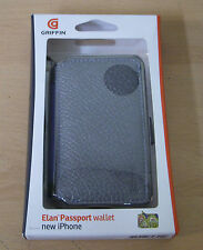 GRIFFIN GB01715 ELAN PASSPORT WALLET PROTECTIVE CASE COVER FOR APPLE IPHONE 4 4S