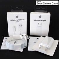 Original Apple iPhone 5 5S 5C SE 6 6S 7 8 Plus Netzteil Ladekabel Ladegerät
