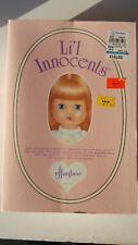 Effanbee Li'l Innocents Doll  Diana Original Box Stand