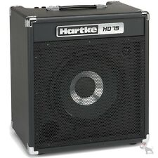 "Hartke HD75 75 Watt Solid State Bass Combo Amp w/ Single 12"" HyDrive Speaker"