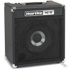 "Hartke HD75 75 Watt Solid State Bass Guitar Combo Amp w/ Single 12"" HyDrive"