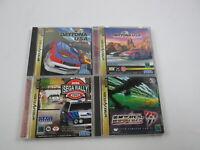 4 games Daytona USA SET Sega Saturn Japan Ver Segasaturn