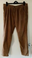 Denim & Co Ladies Brown Chino Trousers Size 14