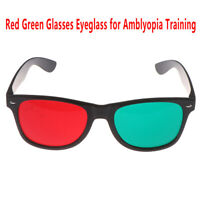 1Pcs Red Green Glasses Eyeglass Amblyopia Training Protection Goggles Glasses