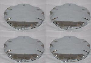 (4) FITS INFINITI 2002 2003 2004 I35 CHROME WHEEL RIM CENTER CAPS 99-0183 73661