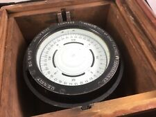 """Antique 1942 Lionel Corp, 4"""" Us Navy Copper Boat Compass/Binnacle Wwii"""