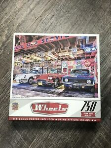 Mater pieces Triple Threat  750 Jigsaw Puzzle
