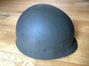 Fibre helmet liner dated , ideal for M-1 us army ww2 front or rear seam helmet