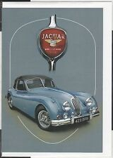1954 JAGUAR XK140 ROADSTER NEW ARTWORK PRINT GREETING GIFT BIRTHDAY X-MAS CARD
