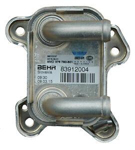 Holden Astra Engine Oil Cooler Genuine BEHR 8MO376780601