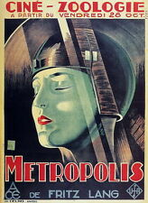 "DY00515 Metropolis - 1927 Fritz Lang Vintage Style Movie 14""x19"" Poster"
