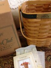Longaberger Collector'sClub 2003 Gathering basket with certificate