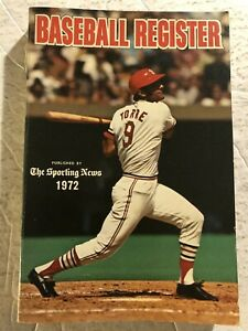1972 BASEBALL Register ST LOUIS CARDINALS Joe TORRE Minnesota Twins TONY OLIVA