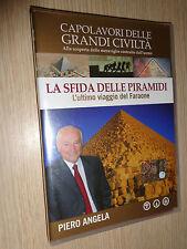DVD N°1 CAPOLAVORI DELLE GRANDI CIVILIZACIÓN' LA SFIDA PIRÁMIDES VIAJE FARAÓN