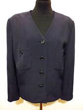 MARIELLA BURANI for AMULETI Giacca Donna Viscosa Rayon Woman Jacket Sz.L - 46