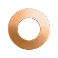 Copper, Premium Metal Stamping Washer Discs, 24 pc- Jewelry Blanks
