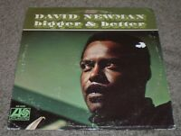 Bigger & Better David Newman~1968 Jazz Fusion~Original Inner Sleeve~VG++ Vinyl