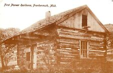 First Pioneer Residence Frankenmuth Michigan MI Postcard