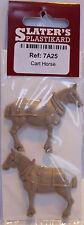 Slaters 7A25 - Cart Horse - Brown Plastic Kit - 0 Gauge