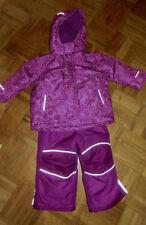 neuwertiger Mädchen TCM  3in1 Skianzug Schneeanzug Winterjacke+Skihose Gr.86 -92