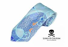 Lord R Colton Masterworks Tie Ice Blue Absolution Woven Silk Necktie - $195 New