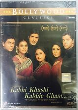 Kabhi Khushi Kabhie Gham DVD - Shahrukh Khan , Hrithik Roshan - Hindi Movie DVD