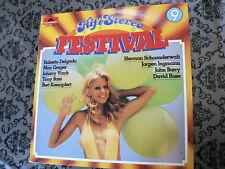 LP RECORD VINYL PIN-UP GIRL HIFI-STEREO FESTIVAL NO 9 POLYDOR 2482449