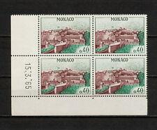 (YYAY 266) Monaco 1964 - 1965 MNH Mich 777 Palace Block of 4