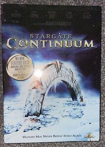Stargate Continuum (DVD, 2008) Richard Dean Anderson R1 GC