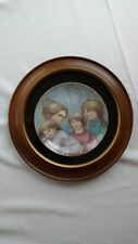 "Edna Hibel ""Leah's Family"" famed limited edition plate"