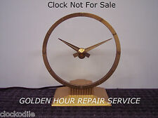 Jefferson Golden Hour Mystery Clock Repair Service -- CLOCK REPAIR SINCE 1844!!