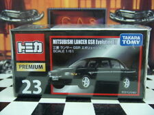 TOMICA PREMIUM #23 MITSUBISHI LANCER GSR EVOLUTION III 1/61 SCALE NEW IN BOX