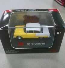 Malibu International Diecast Collection 1:87 Chevy Bel Air 1955 RARE COLOR c34