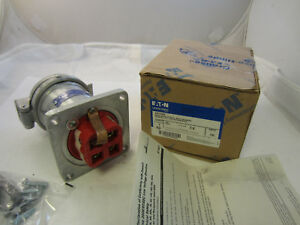 CROUSE HINDS 100 AMP 3W 4P  RECEPTACLE AR1042 NEW IN BOX MATES WITH APJ10487
