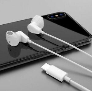 Type C Earphones Earbuds Headphone For Samsung Galaxy Note 10/ 20 Plus ultra