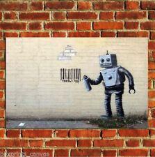 Pop Art Robot Art Posters