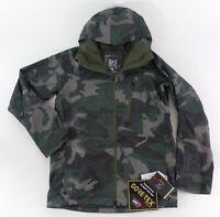 Burton AK 2L GORE-TEX Cyclic Jacket in Wormwood Camo SZ S