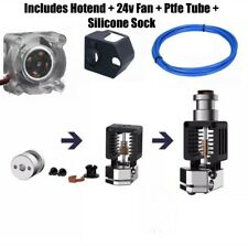 Mosquito type all metal hotend with ptfe tube + fan for Ender 3 , V2 , CR10 v2