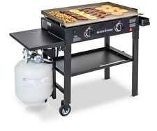 "Blackstone Propane Gas Grill 2-Burner 28"" Steel Griddle Portable Cooking Station"