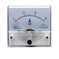 0- 200A DC Ammeter Amp Current Panel Meter Analogue Analog NEW WT New