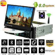 "7"" 1Din Autoradio Android Bluetooth Pantalla táctil Stereo DVD Radio WIFI FM USB"